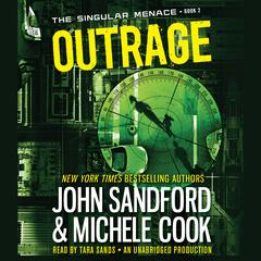 Outrage  by John Sandford, Michele Cook