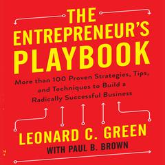 The Entrepreneur's Playbook by Leonard C. Green
