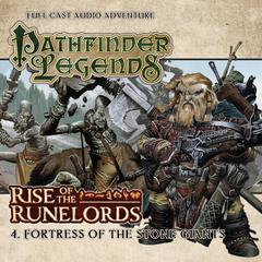 Rise of the Runelords: Fortress of the Stone Giants by Cavan Scott