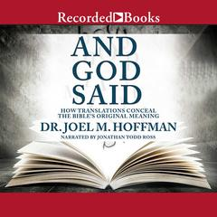 And God Said by Joel M. Hoffman