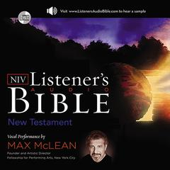 The NIV Listener's Audio New Testament by Max McLean, Zondervan