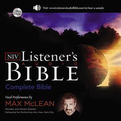 The NIV Listener's Audio Bible by Zondervan