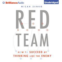 Red Team by Micah Zenko