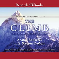 The Climb by Anatoli Boukreev, G. Weston De Walt