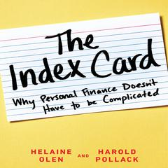 The Index Card by Helaine Olen, Harold Pollack