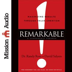 Remarkable! by Randy Ross, David Salyers