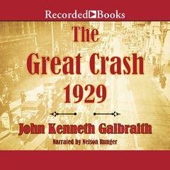The Great Crash 1929 by John Kenneth Galbraith