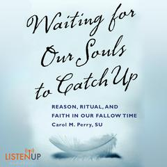 Waiting for our Souls to Catch Up by Carol M. Perry, SU