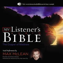 NIV, Listener's Audio Bible: Gospel of Matthew by Zondervan