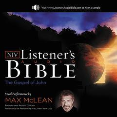 NIV, Listener's Audio Bible: Gospel of John by Zondervan