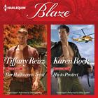 Her Halloween Treat & His to Protect by Tiffany Reisz, Karen Rock