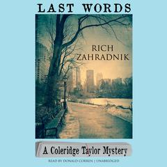 Last Words by Rich Zahradnik