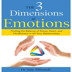 The 3 Dimensions of Emotions by Sam Alibrando