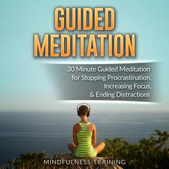 Guided Meditation: 30 Minute Guided Meditation for Positive Thinking, Mindfulness, & Self Healing (Self Hypnosis, Affirmations,  by Cynthia Mendoza