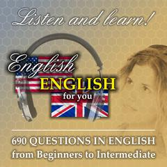 690 questions in English - from Beginners to Intermediate by Richard Ludvik