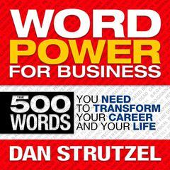 Word Power for Business by Dan Strutzel