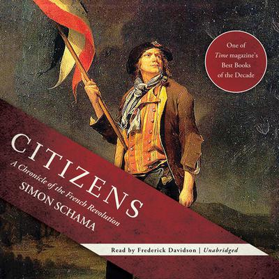 Citizens by Simon Schama audiobook
