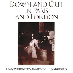 Down and Out in Paris and London by George Orwell audiobook