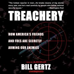 Treachery by Bill Gertz audiobook
