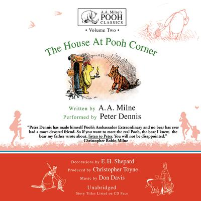 The House at Pooh Corner by A. A. Milne audiobook