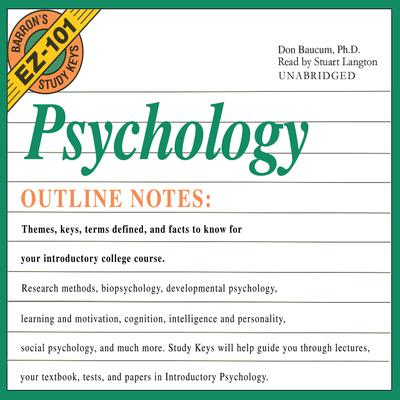 Psychology by Don Baucum audiobook
