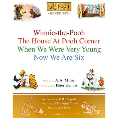 Winnie-the-Pooh Boxed Set by A. A. Milne audiobook