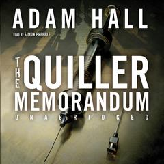 The Quiller Memorandum by Adam Hall audiobook