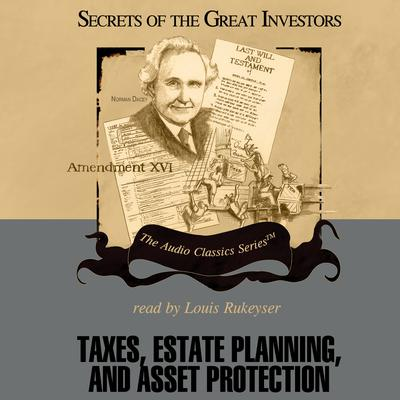 Taxes, Estate Planning, and Asset Protection by Vernon K. Jacobs audiobook