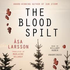 The Blood Spilt by Åsa Larsson