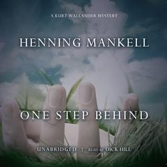 One Step Behind by Henning Mankell audiobook