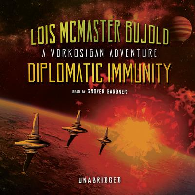 Diplomatic Immunity by Lois McMaster Bujold audiobook