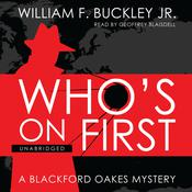 Who's on First by  William F. Buckley Jr. audiobook
