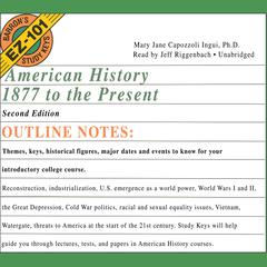 American History, 1877 to the Present, Second Edition by Mary Jane Capozzoli Ingui audiobook