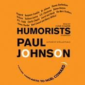 Humorists by  Paul Johnson audiobook