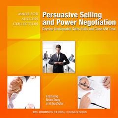 Persuasive Selling and Power Negotiation by Made for Success audiobook