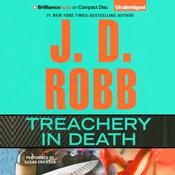 Treachery in Death by  J. D. Robb audiobook