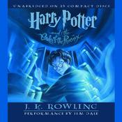 Harry Potter and the Order of the Phoenix by  J. K. Rowling audiobook