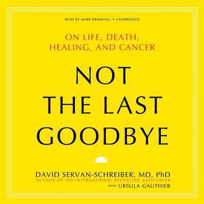 Not the Last Goodbye by David Servan-Schreiber audiobook