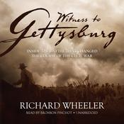 Witness to Gettysburg by  Richard Wheeler audiobook