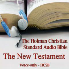 The New Testament of the Holman Christian Standard Audio Bible by Made for Success audiobook