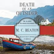 Death of an Outsider by  M. C. Beaton audiobook