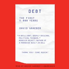 Debt by David Graeber audiobook