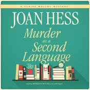 Murder as a Second Language by  Joan Hess audiobook