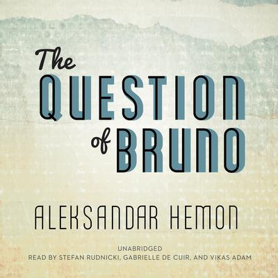 The Question of Bruno by Aleksandar Hemon audiobook