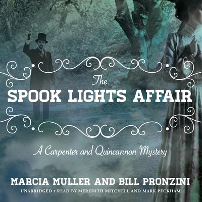 The Spook Lights Affair by Marcia Muller audiobook