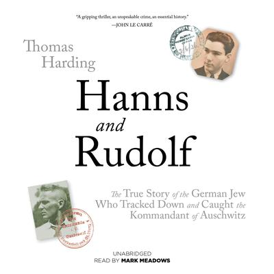Hanns and Rudolf by Thomas Harding audiobook