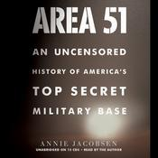 Area 51 by  Annie Jacobsen audiobook