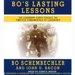 Bo's Lasting Lessons by Bo Schembechler audiobook
