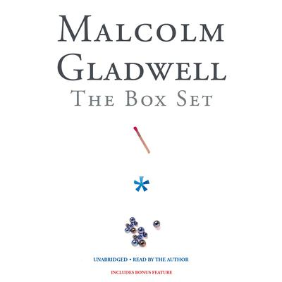 Malcolm Gladwell Box Set by Malcolm Gladwell audiobook