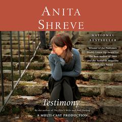 Testimony by Anita Shreve audiobook